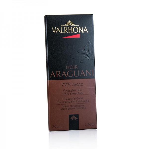 Valrhona - Araguani - Edelbitterschokolade 72% Kakao