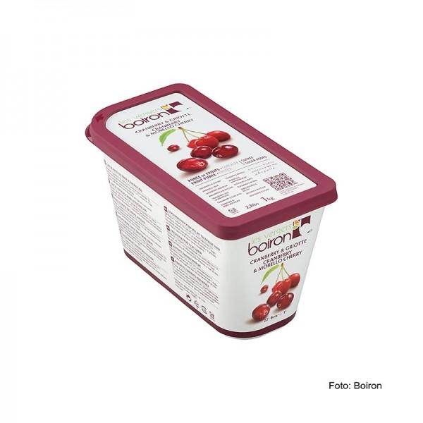Les Vergers Boiron - Püree-Sauerkirsche & Cranberry TK