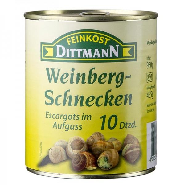 Feinkost Dittmann - Weinberg Schnecken groß Dittmann