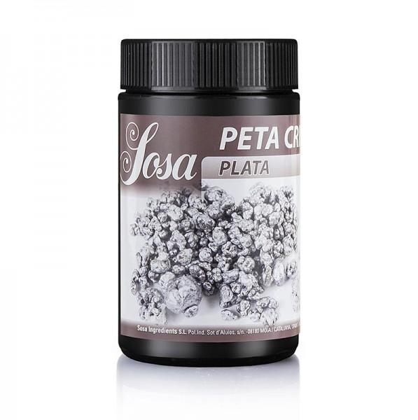 Sosa - Peta Crispy (Knallbrause) Silber Kakaobutter ummantelt Wetproof