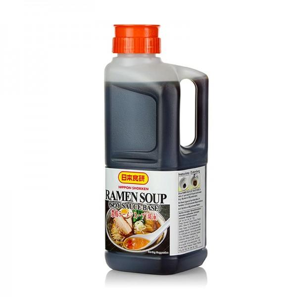 Nihon Shokken - Ramen Suppe Basis Soja-Saucen Geschmack Nihon Shokken
