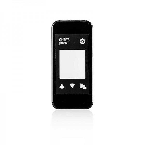 Chef´s Probe - Chef´s Probe Front Black schwarze Austauschfront für das Thermometer