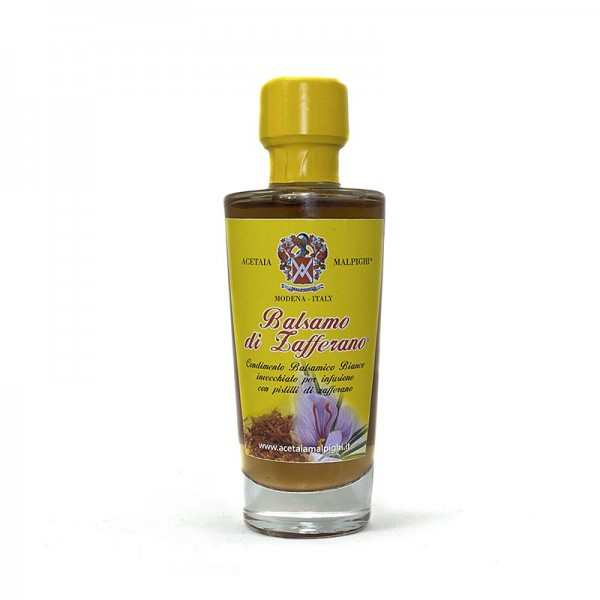 Malpighi - Balsamo di Zafferano Condiment mit Safran 8 Jahre Malpighi