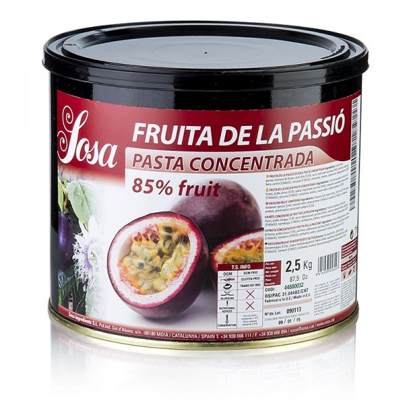 Sosa - Paste - Passionsfrucht