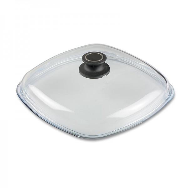 AMT Gastroguss - AMT Gastroguss Glasdeckel für Bratentopf eckig 28cm