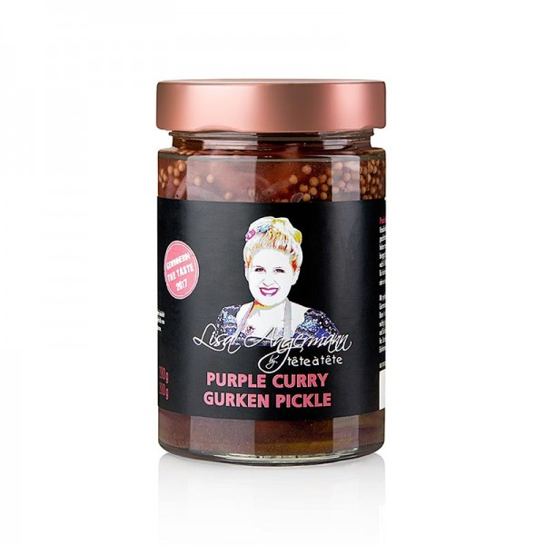 Lisa Angermann - Purple Curry - Gurken Pickle by Lisa Angermann