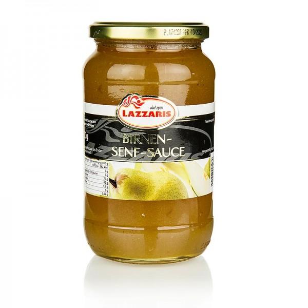 Lazzaris - Lazzaris -Birnen-Senf-Sauce nach Tessiner Art