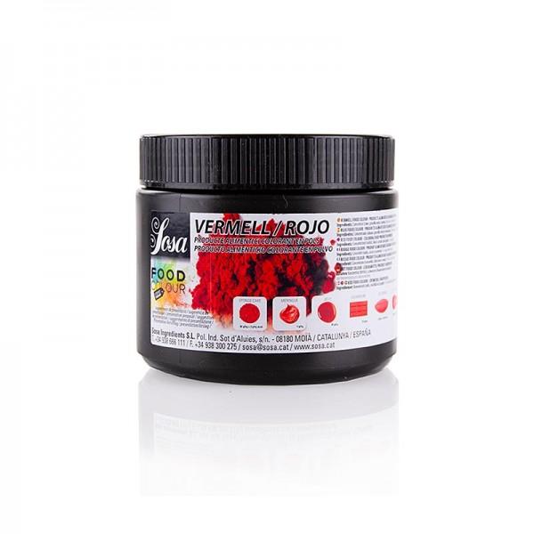 Sosa - Lebensmittelfarbe Natürlich Puder Rot fett- & wasserlöslich