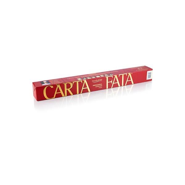 Carta Fata - CARTA FATA® Koch u. Bratfolie Hitzebeständig bis 220°C 36cm x 40m