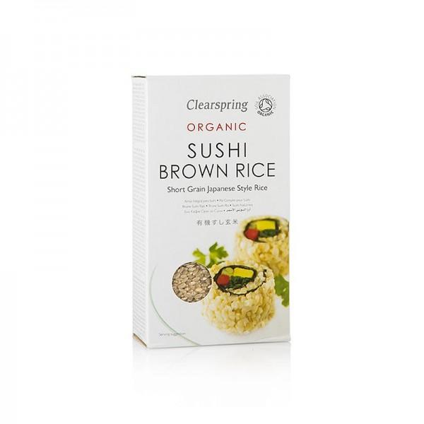 Clearspring - Organic Brown Sushi Rice brauner Sushi Reis Clearspring BIO