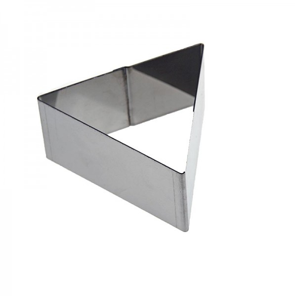 de Buyer - deBUYER Rahmen dreieckig Edelstahl 9.4cm Kantenlänge 4.5cm hoch