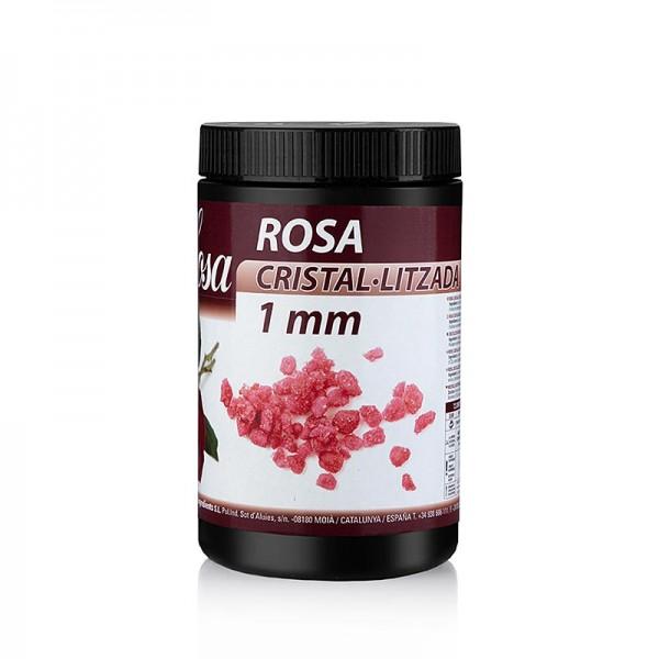 Sosa - Rosenblütenblätter rot 1mm Stücke kristallisiert