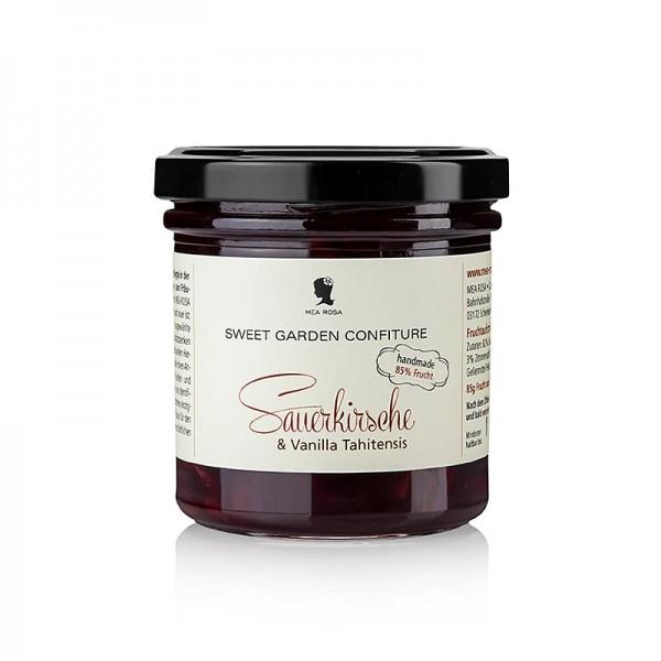 Sweet Garden Confiture - Sweet Garden Confiture - Sauerkirsch & Tahiti Vanille Fruchtaufstrich Mea Rosa