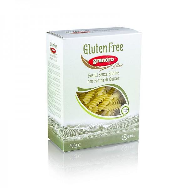 Granoro - Granoro Fusilli mit Quinoa glutenfrei