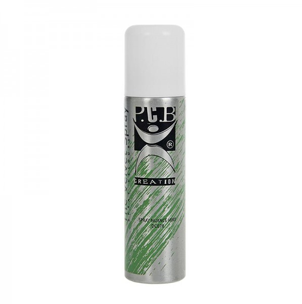 P.C.B. Creation - Dekor Spray Velvet/Samt Effekt grün PCB