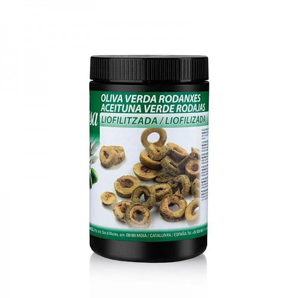 Sosa - Gefriergetrocknete Oliven grün in Scheiben geschnitten