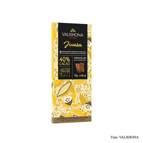 Valrhona - Jivara - Vollmilchschokolade 40% Kakao