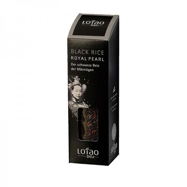 Lotao - Lotao - Royal Pearl Black schwarzer Reis Italien BIO