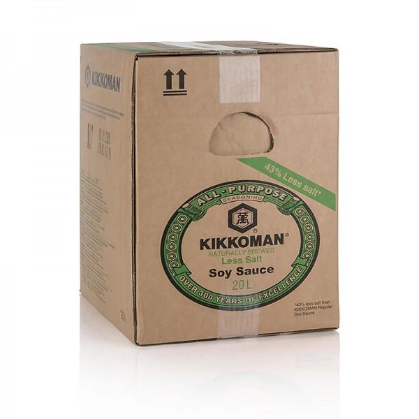 Kikkoman - Soja-Sauce - Shoyu Genen Kikkoman 43% weniger Salz Japan