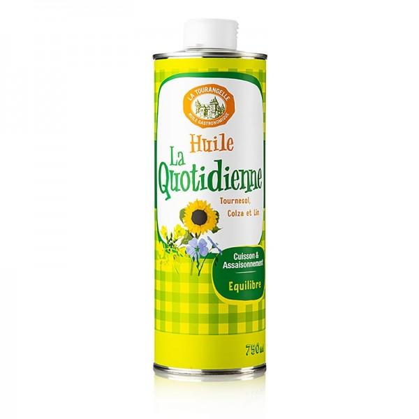 La Tourangelle - La Quotidienne Öl aus Sonnenblume Raps & Leinsamen 750ml La Tourangelle