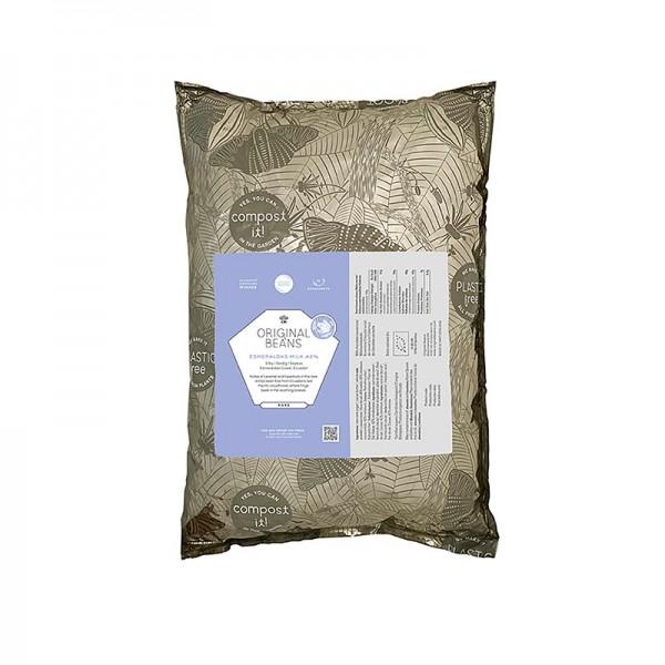 Original Beans - Esmeraldas Milk Ecuador 42% Milch Couverture Callets Original Beans BIO