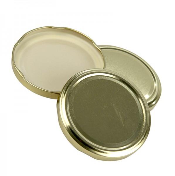 Deli-Vinos Kitchen Accessories - Golddeckel für Sturzgläser 82mm 230/440 ml