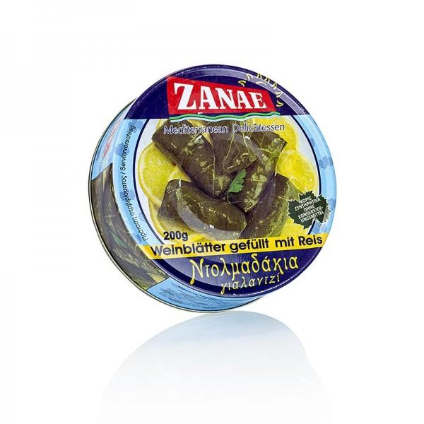 Zanae - Weinblätter mit Reisfüllung