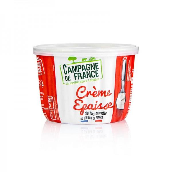 Crème Epaisse - Crème Fraiche Crème Épaisse aus der Normandie 39.4% Fett