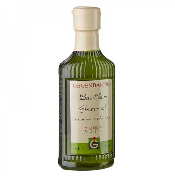 Gegenbauer Öle - Gewürzöl Basilikum mit Sonnenblumenkernöl