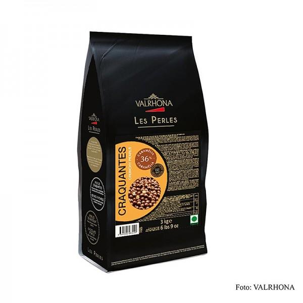 Valrhona - Knusprige Perlen Getreidefüllung mit Milchschokoüberzug 36% Kakao
