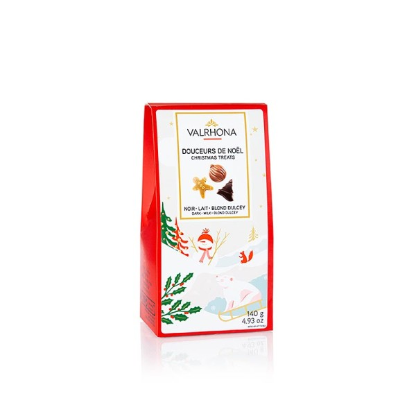 Valrhona - Valrhona Weihnachts Schokoladen Ornamente (Douceurs de Noel)