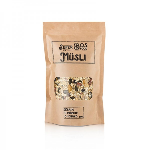 Bos Food - BOS FOOD Super Müsli - Basic
