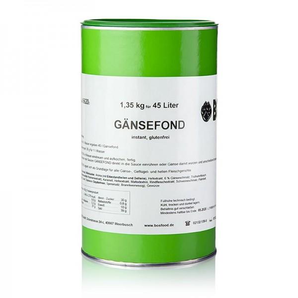 Gewürzgarten Selection - Gänsefond Instantpulver ohne zugesetztes Glutamat für 45 Liter