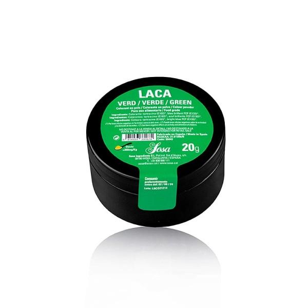 Sosa - Lebensmittelfarbe Puder Grün fettlöslich