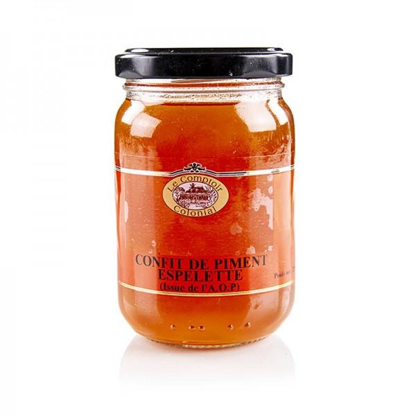 Le Comptoir Colonial - Gelee von Piment d ´Espelette (süßes & mildes Confit) 220g