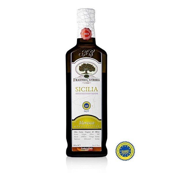Frantoi Cutrera - Frantoi Cutrera Grand Cru Olivenöl Extra Vergine 100% Moresca