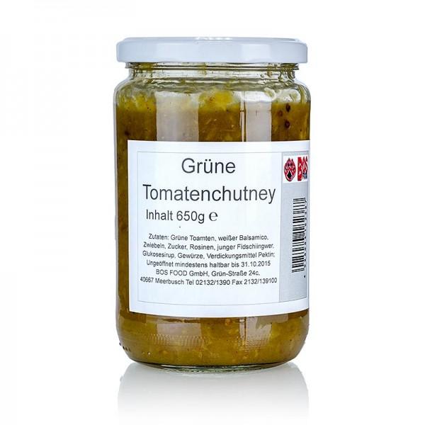 Gewürzgarten Selection - Grüne Tomaten Chutney mit weißem Balsamico