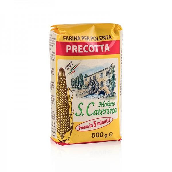 Perteghella - Polenta - Quick-Polenta Precotta Maisgrieß vorgekocht