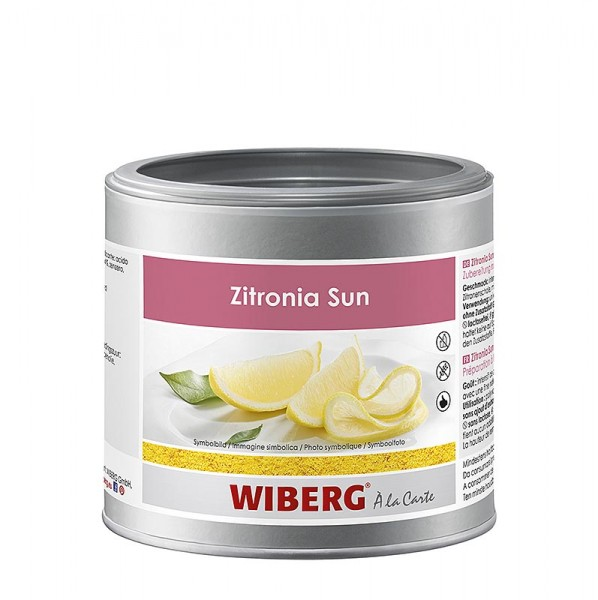 Wiberg - Zitronia Sun Zubereitung mit natürlichem Zitronenöl