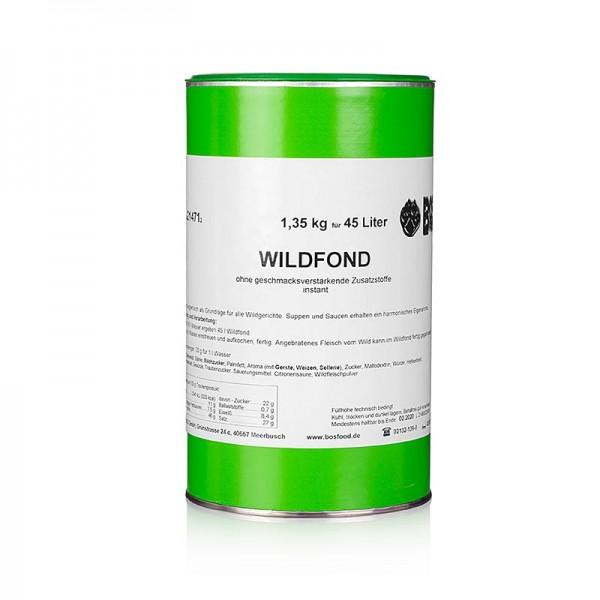 Gewürzgarten Selection - Wildfond Instantpulver ohne zugesetztes Glutamat für 45 Liter