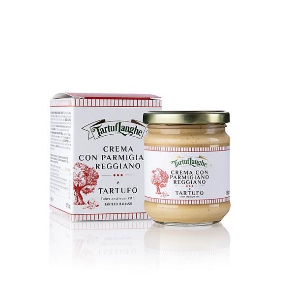 Tartuflanghe - TARTUFLANGHE Parmigiano Reggiano Sauce mit Sommertrüffel Parmesan Sauce