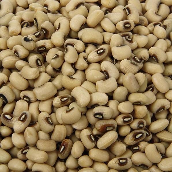 Deli-Vinos Legumes - Bohnen Black-Eye Beans - weiß mit schwarzen Augen getrocknet