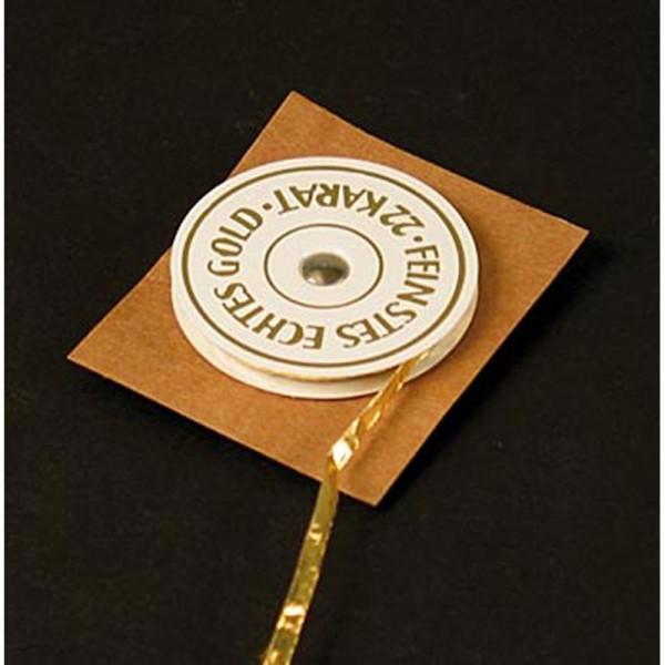 Goldgourmet - Gold - Rollengold 22 Karat 3mm breit E175