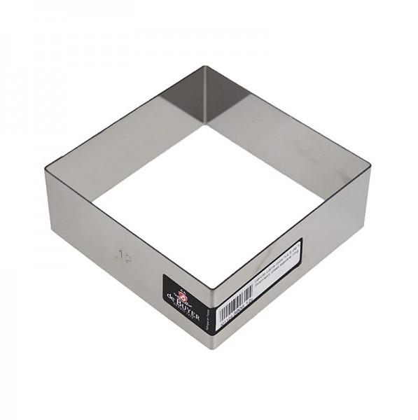 de Buyer - deBUYER Rahmen quadratisch Edelstahl 12 x 12cm 4.5cm hoch
