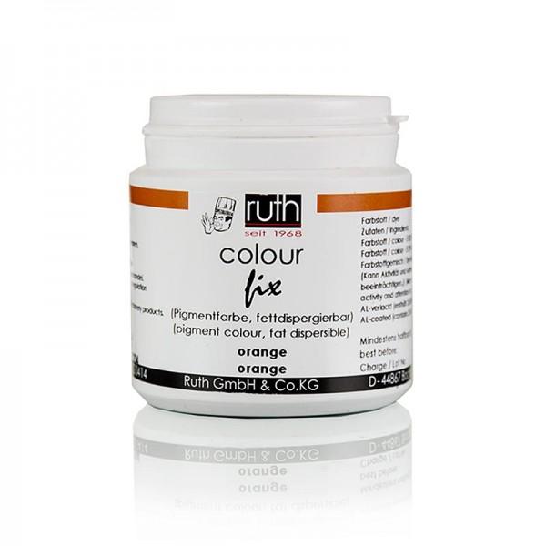 Ruth - Pigmentfarbe orange fettlösliches Pulver 9204 Ruth
