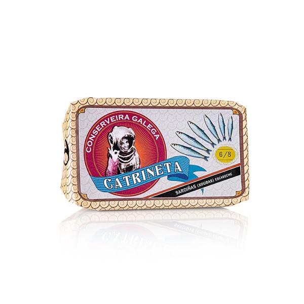 Catrineta - Sardinen ganz klein 6-8 Stück in Escabeche Sauce Catrineta