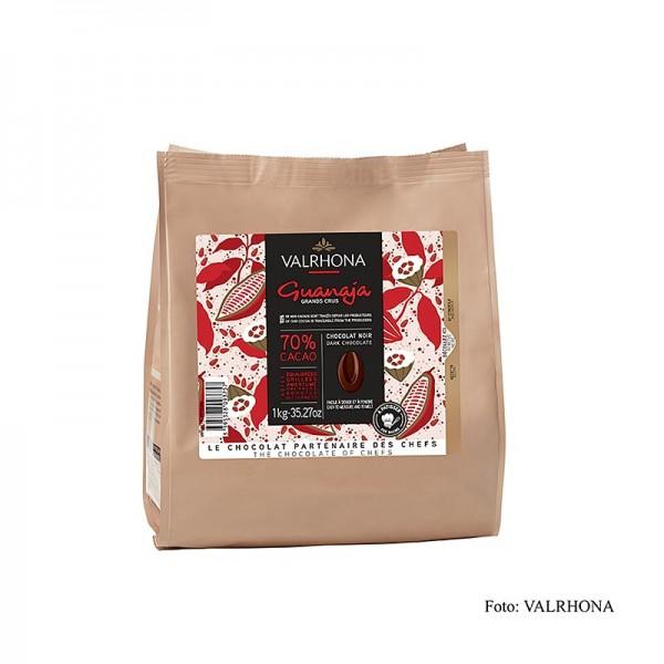 Valrhona - Guanaja Grand Cru dunkle Couverture Callets 70% Kakao