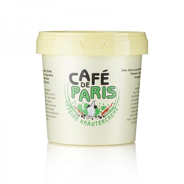 Cafe de Paris - Kräutercreme - Café de Paris mit pflanzlichen Fetten Kräutern und Butter
