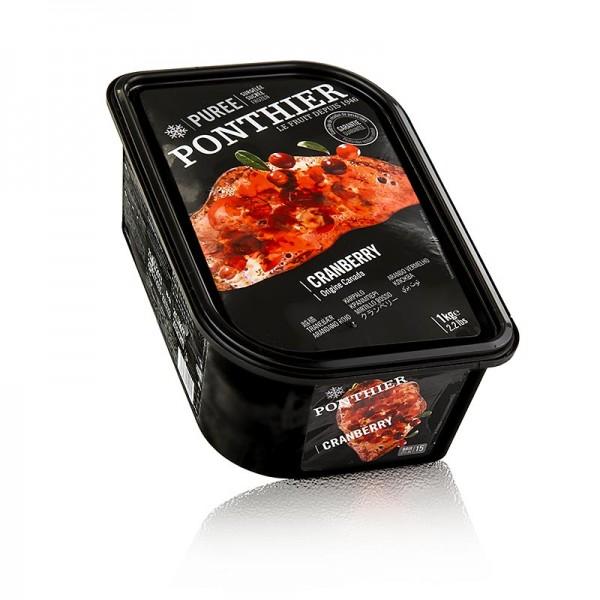 Ponthier Pürees - Püree- Cranberry mit Zucker TK
