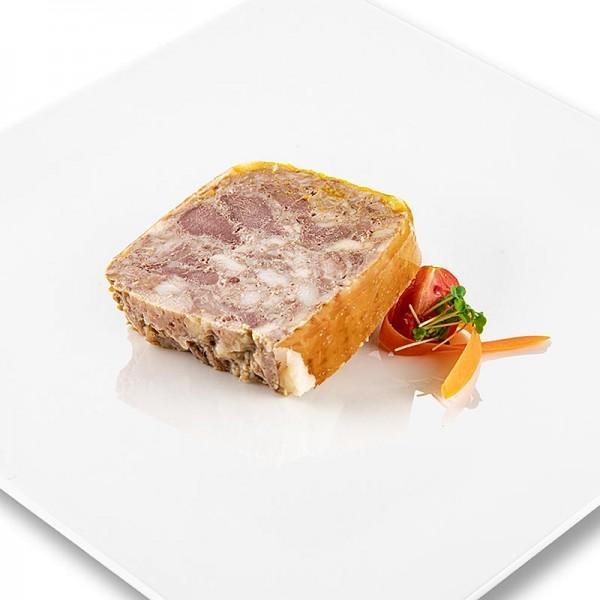 Rougie - Entenfleisch Terrine mit Orangen Trapez Rougié